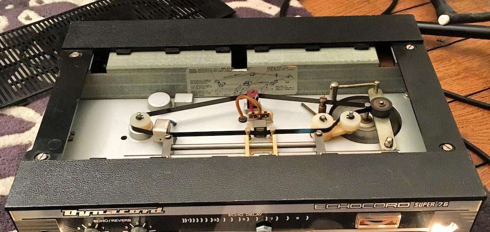 Test Dynacord Echocord Super 76 (intérieur) : un véritable écho à bande