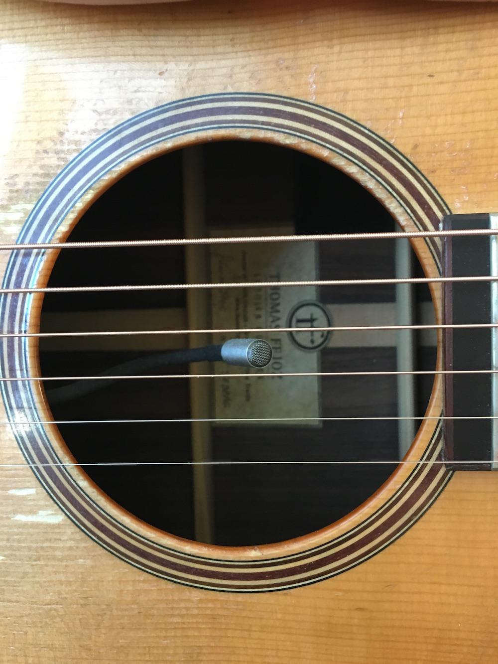Guitare Acoustique - Chronique #3 le matos Shaï Sebbag- K & K Trinity
