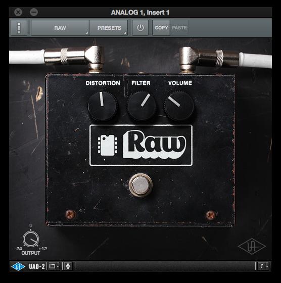 UniversalAudioPluginPedalRaw