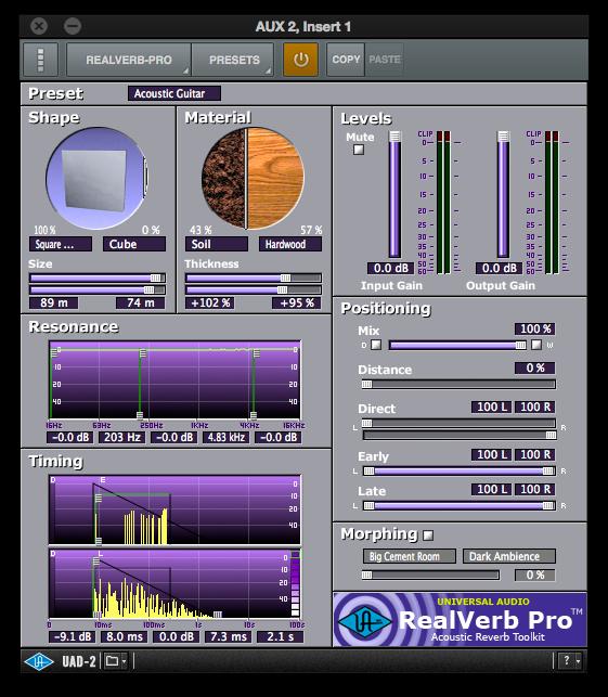 UniversalAudioPluginReverb