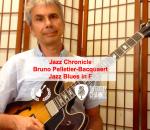 "Pédago Jazz par @BrunoPelBac - ""Comping"" Jazz Blues en Fa"