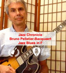 "Pédago Jazz par @BrunoPelBac - ""Comping"" Jazz Blues en Fa"