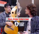 Interview Don Alder pendant le NAMM 2016
