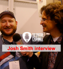 Interview Josh Smith durant le NAMM 2016
