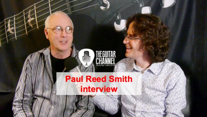 Interview Paul Reed Smith au NAMM 2016