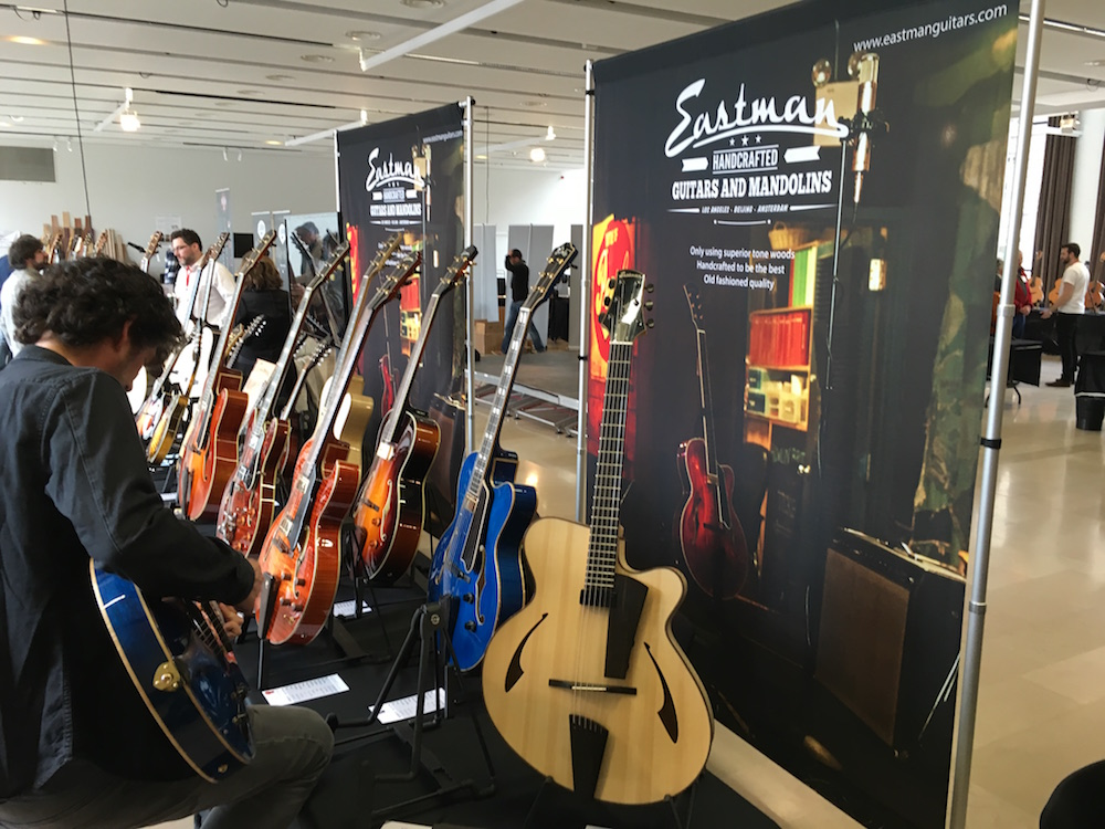 Guitares au Beffroi 2016 - Eastman