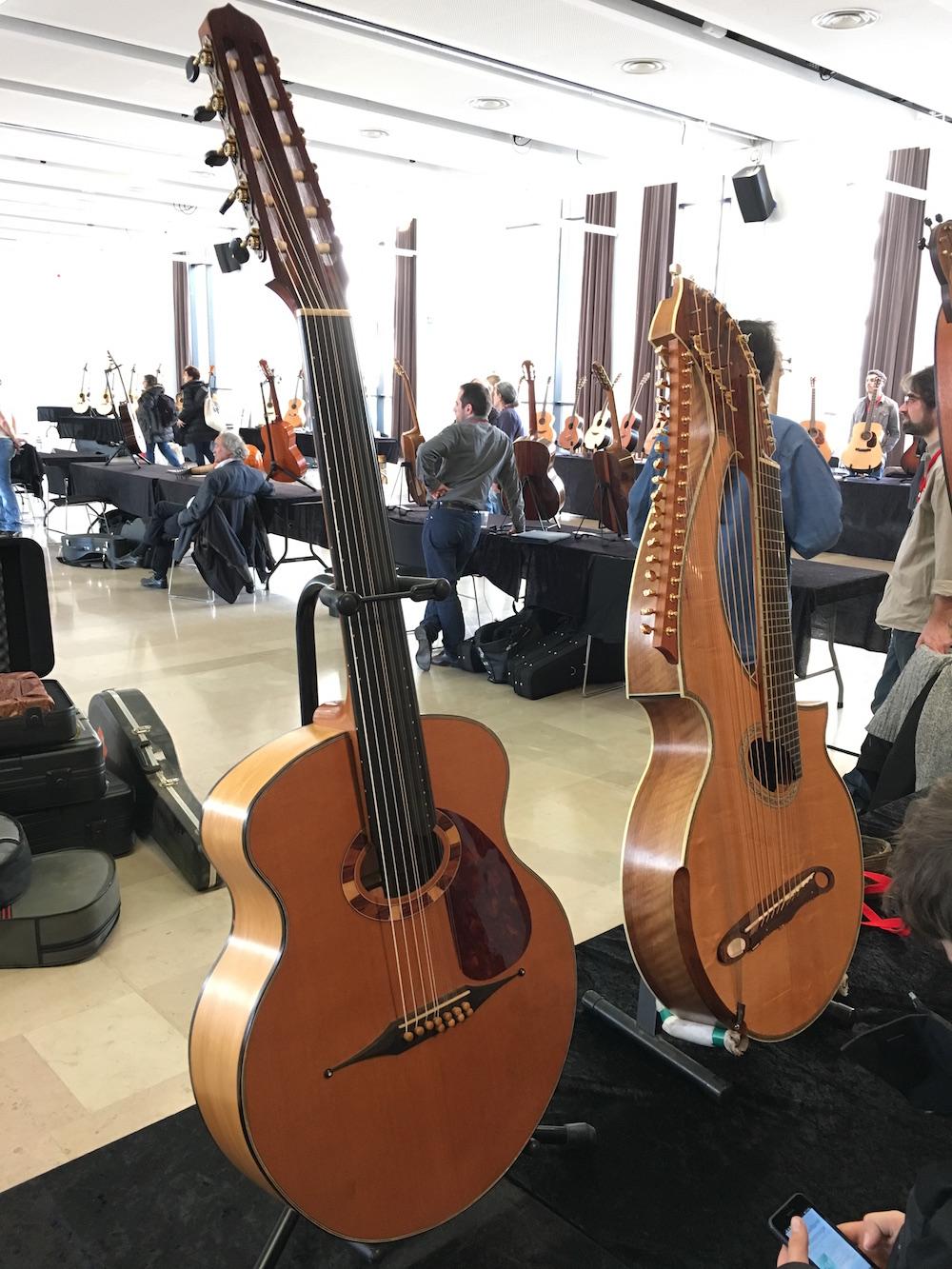 Guitares au Beffroi 2016 - Luthier Benoît Meulle-Stef