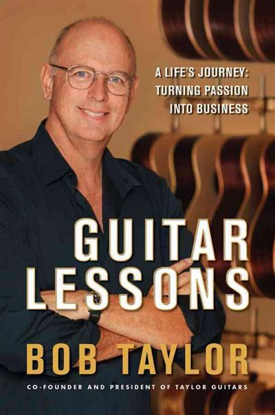 Guitar Lessons - Bob Taylor book
