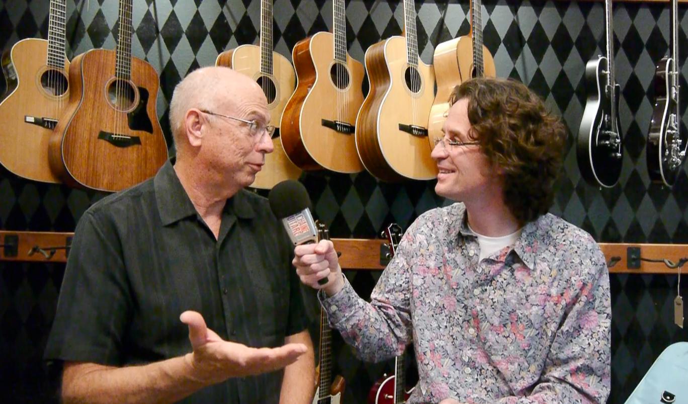 Bob Taylor et Pierre Journel - Janvier 2016 - La Chaîne Guitare