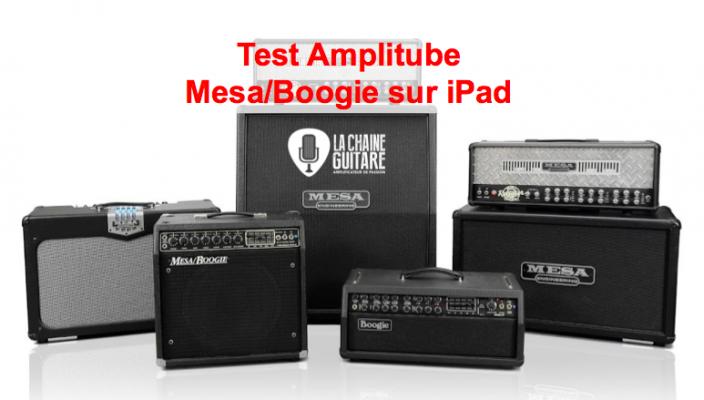 Amplitube MesaBoogie : un son de légende sur iPad par @ikmultimedia