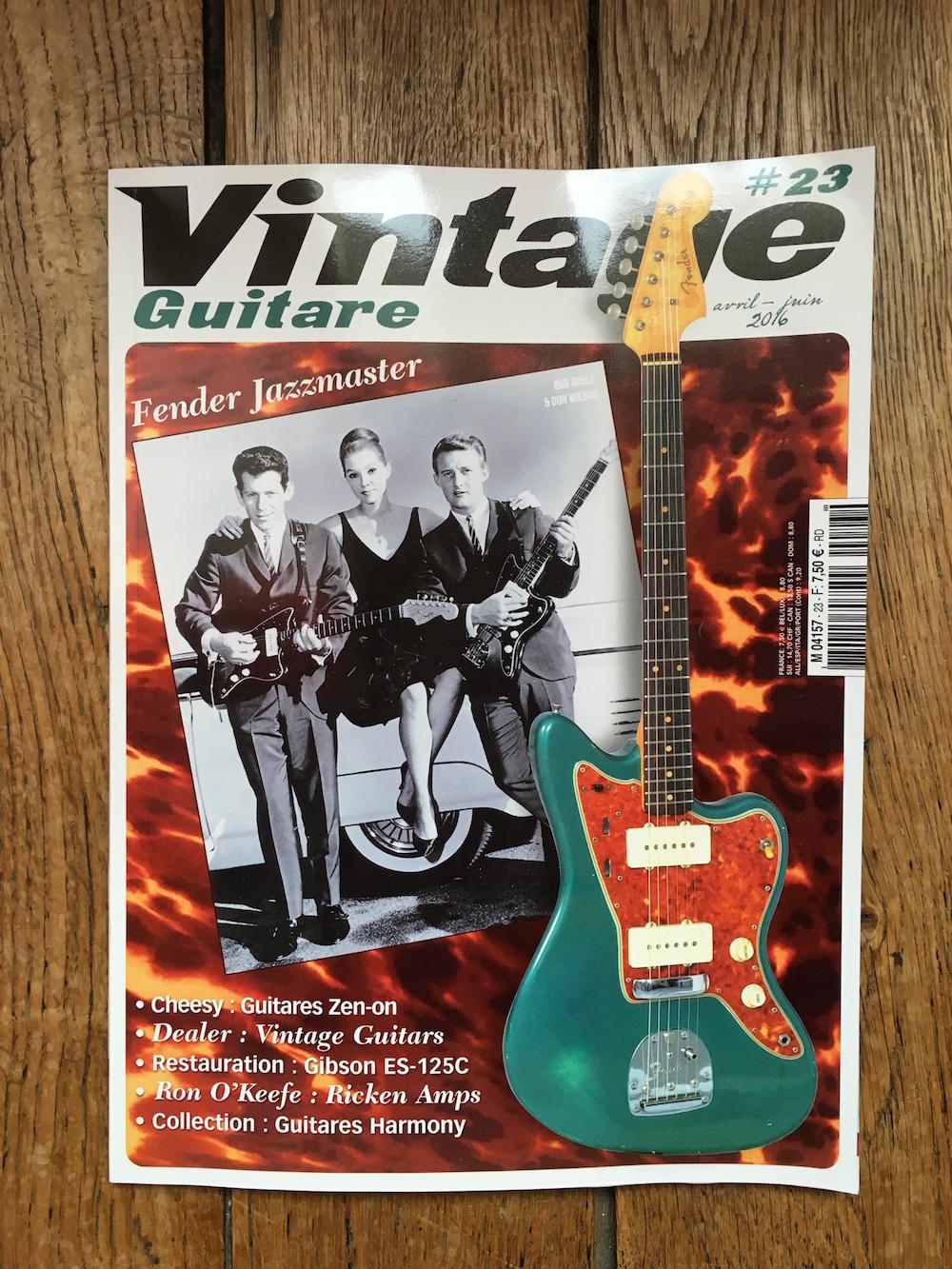 Guitare Vintage - Mai/juin 2016
