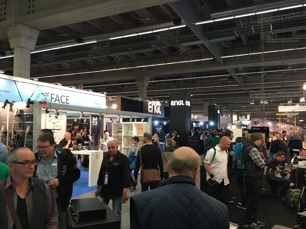 Musikmesse 2016 - Hall 11.0
