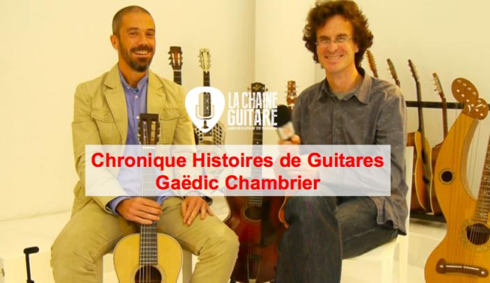 Avènement des guitares américaines - Histoires de Guitares de Gaëdic Chambrier