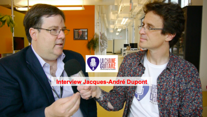 Interview Jacques-André Dupont, grand amoureux de la guitare