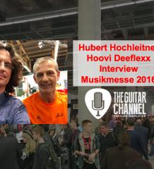 Interview Hubert Hochleitner (Hoovi Deeflexx) au Musikmesse 2016