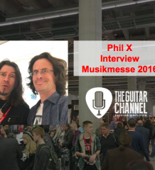 Interview PhilX au @Musikmesse 2016