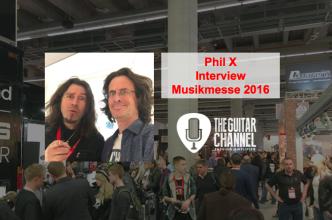 Interview PhilX au @Musikmesse 2016