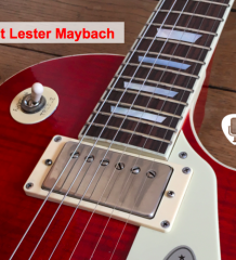 Test Guitare Maybach Lester