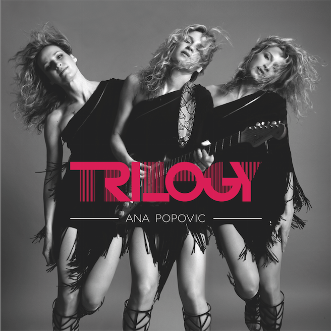 Interview Ana Popovic au sujet de son triple album Trilogy