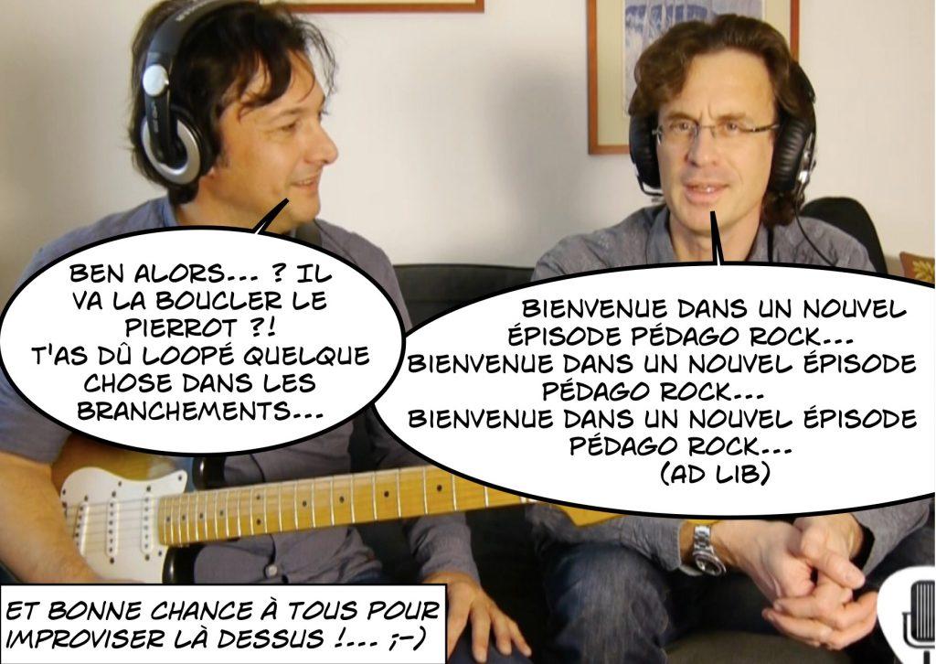 Utilisation du looper - Pédago Rock de Philippe Figueira - Cartoon