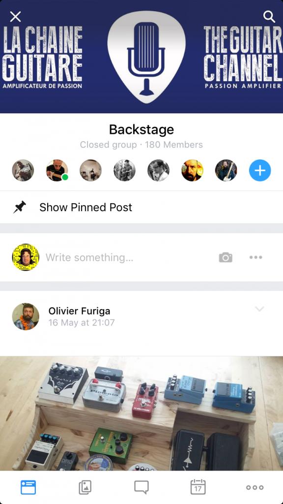 La communauté Backstage : enfin des discussions guitare passionnées !