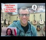 Les nouvelles 12 cordes Taylor : interview Andy Powers master builder @TaylorGuitars:
