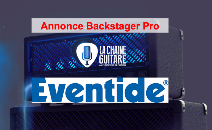 Annonce Backstager Pro : Eventide