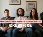 Interview Crossfire : un duo Folk envoûtant et puissant