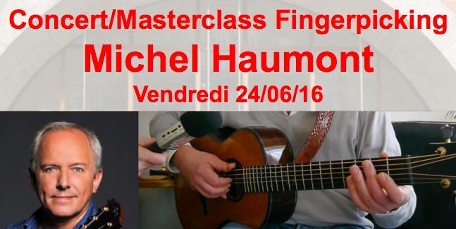 Concert/Masterclass Michel Haumont 24/06/16