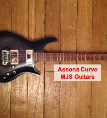 Test guitare : Assona Curve du luthier @MJSguitars