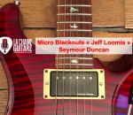 "Micros Blackouts ""Jeff Loomis"" de Seymour Duncan"