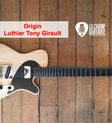 Test Guitare Tony Girault - Modèle Origin Blackguard