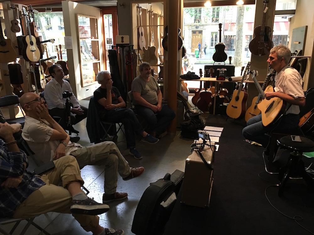 Masterclass Jazz Bruno Pelletier-Bacquaert chez L'Atelier Dupont des Arts