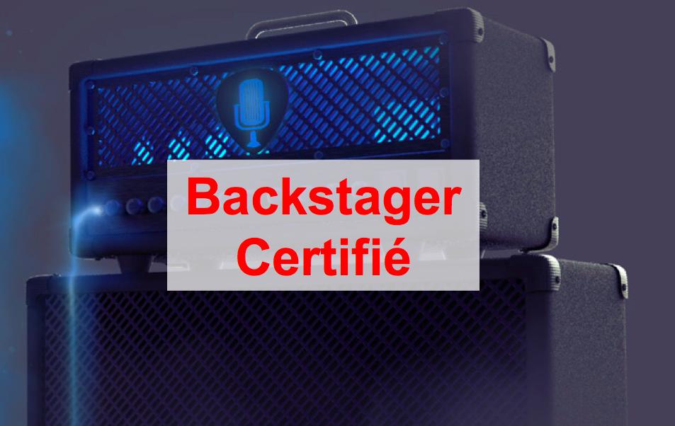 Backstager Certifié : le programme