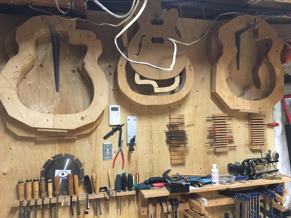 Atelier luthier Martin Tremblay (Montréal) - La Chaîne Guitare