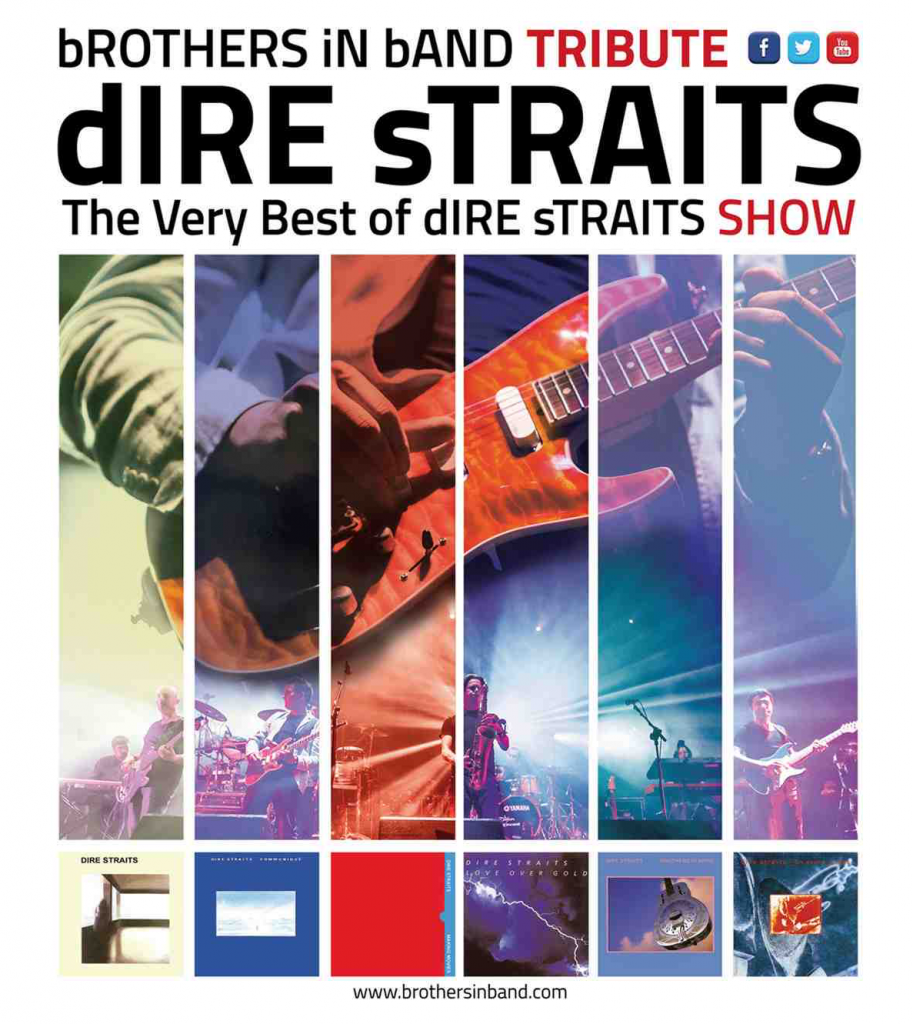 Oscar Rosende guitariste d'un tribute band Dire Straits - Brothers In Band