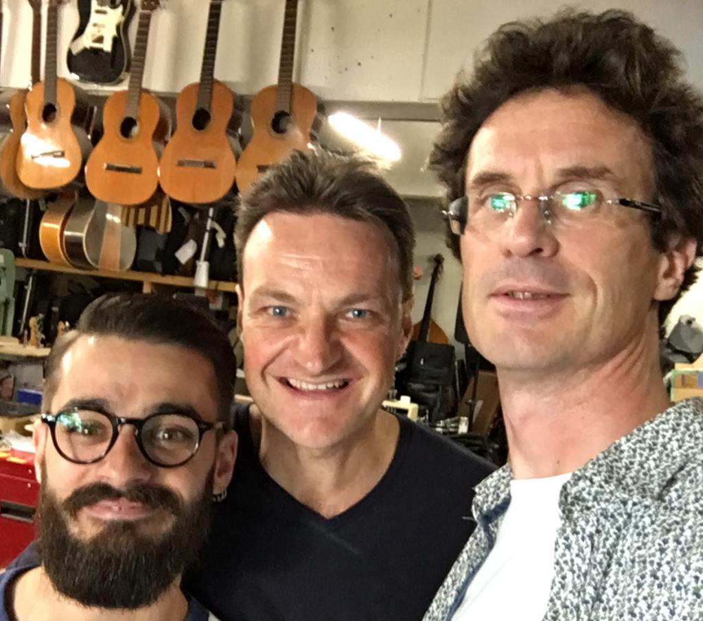 Simon Ghnassia, Didier Duboscq et Pierre Journel