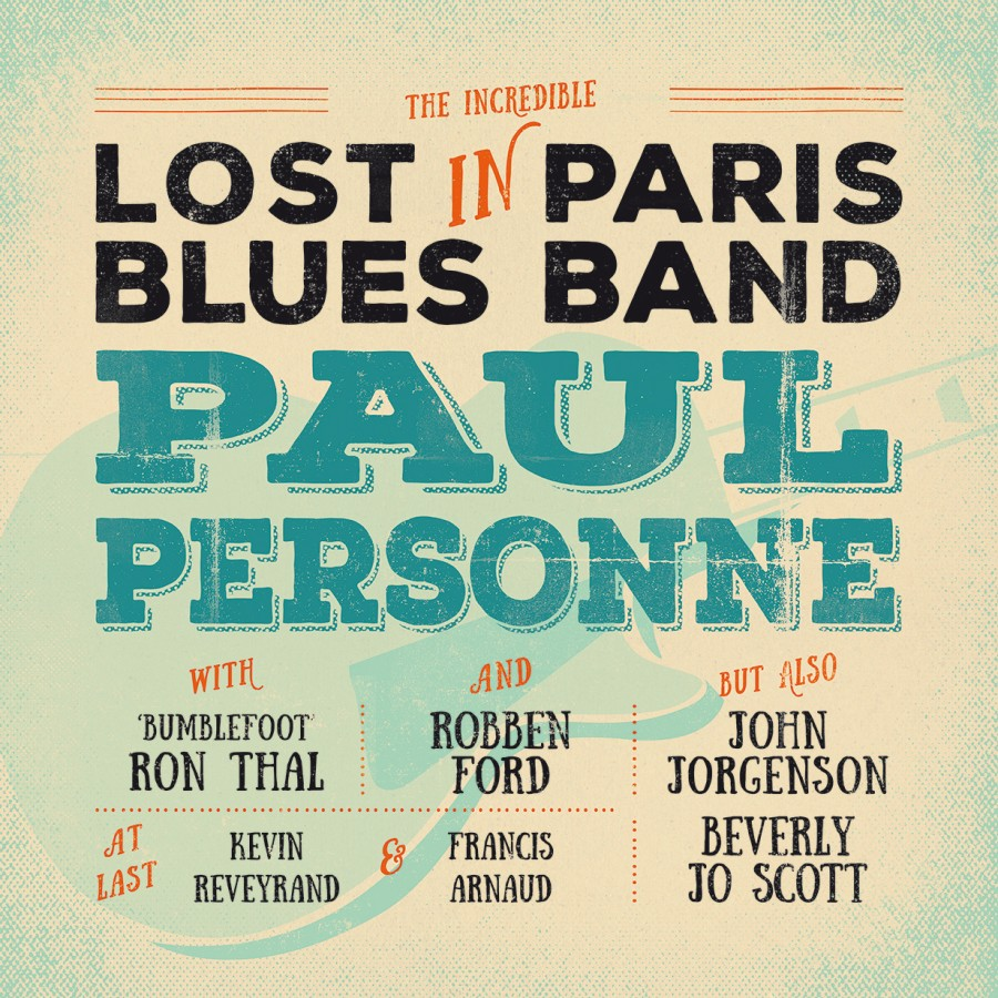 Paul Personne - Lost In Paris Blues Band - Interview Paul Personne guitare à la main - Lost in Paris