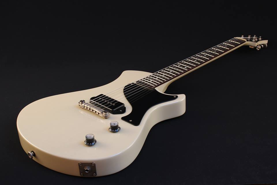 Spartan TV White - Springer Guitars