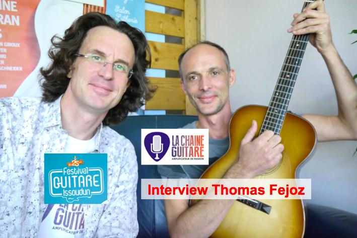 Interview du luthier Thomas Fejoz au Festival Guitare Issoudun