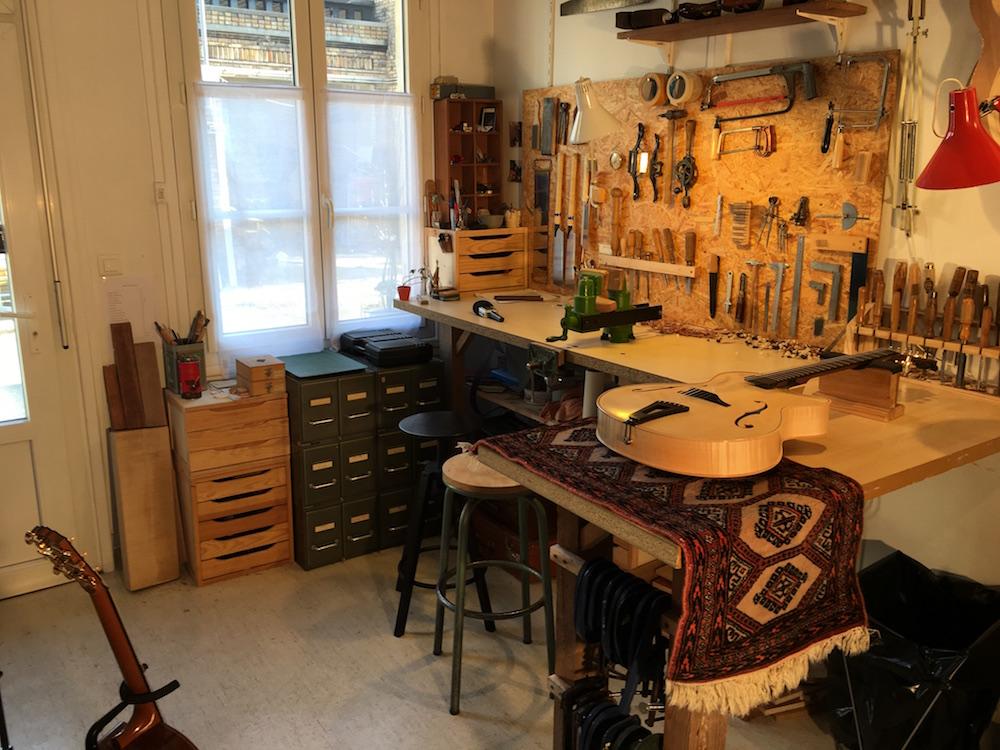 Luthier Adrien Collet - Visite d'atelier