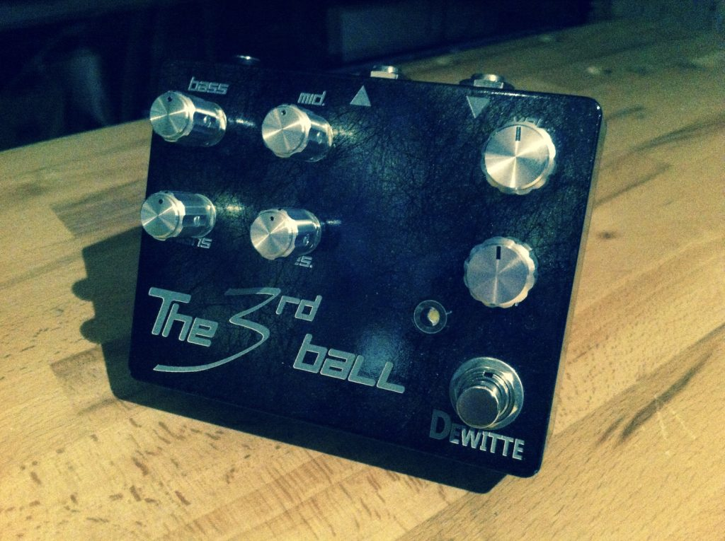 Dewitte Wire : une nouvelle version de la pédale The 3rd Ball