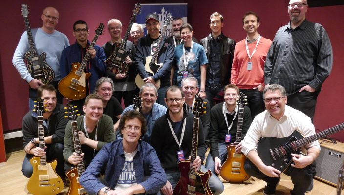 Reportage sur l'Après-Midi et Soirée Matos Springer Guitars