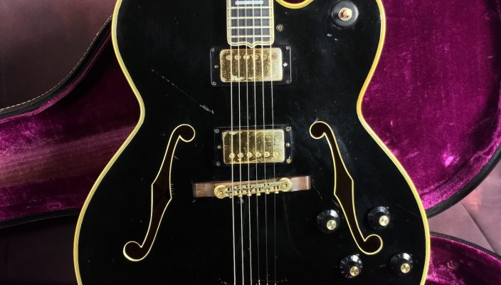 Gibson Byrdland 1969 - Guitares d'Exception par Matthieu Lucas