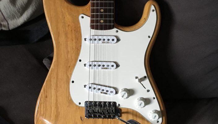 Strat Gary Moore de 1963 - Guitares d'Exception par Matthieu Lucas