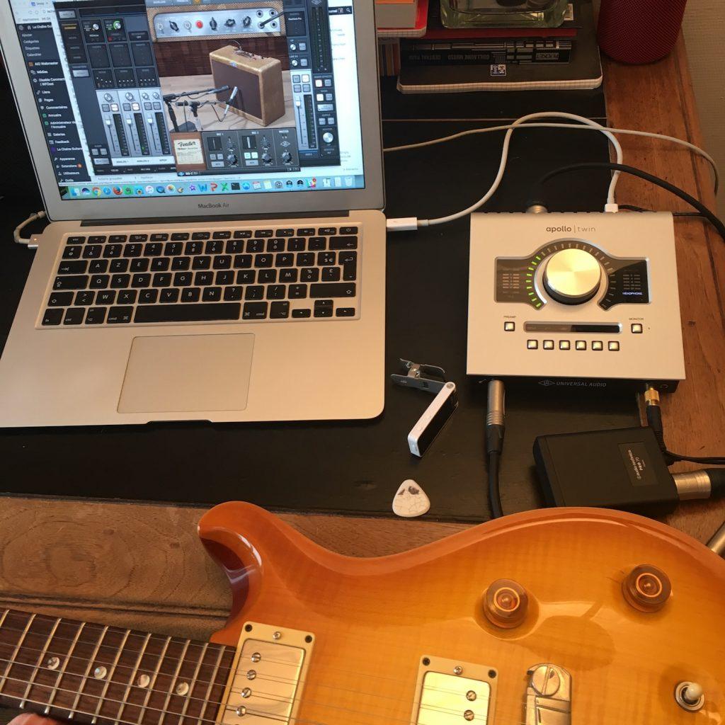 Comparaison micros PRS McCarty vs @HausselPickups 59 - Universal Audio