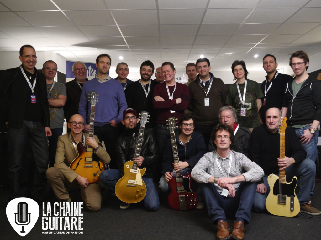 Reportage après-midi Backstage guitare Vintage avec Matthieu Lucas