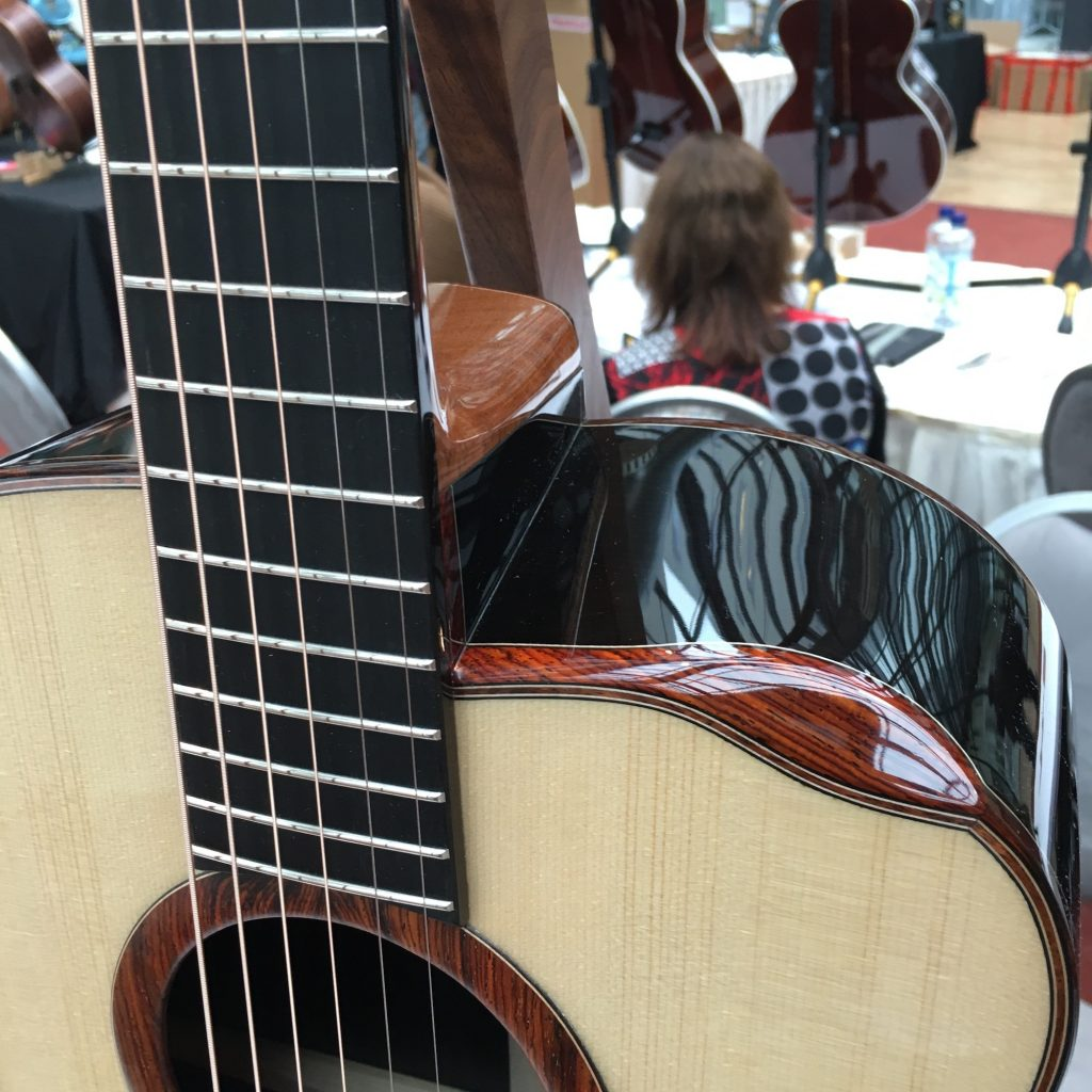 Isaac Jang guitars - 2016 Holy Grail Guitar Show
