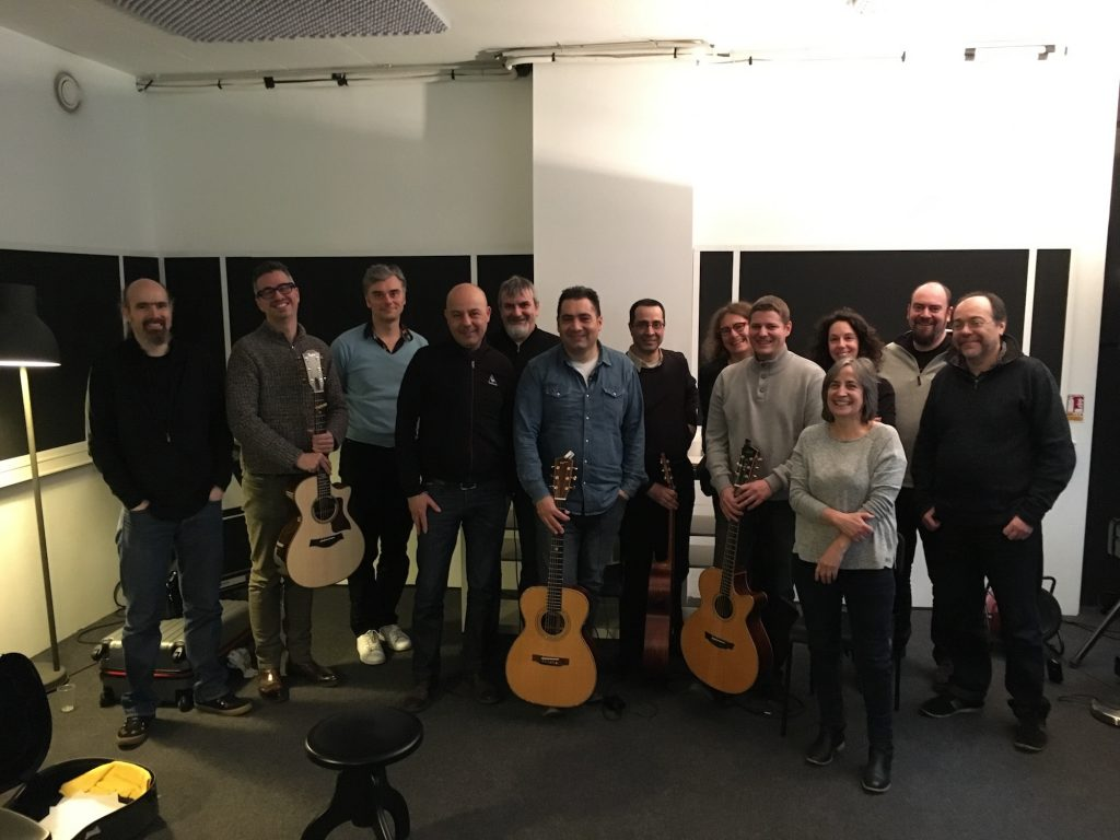 Masterclass Fingerpicking François Sciortino - Photo de groupe