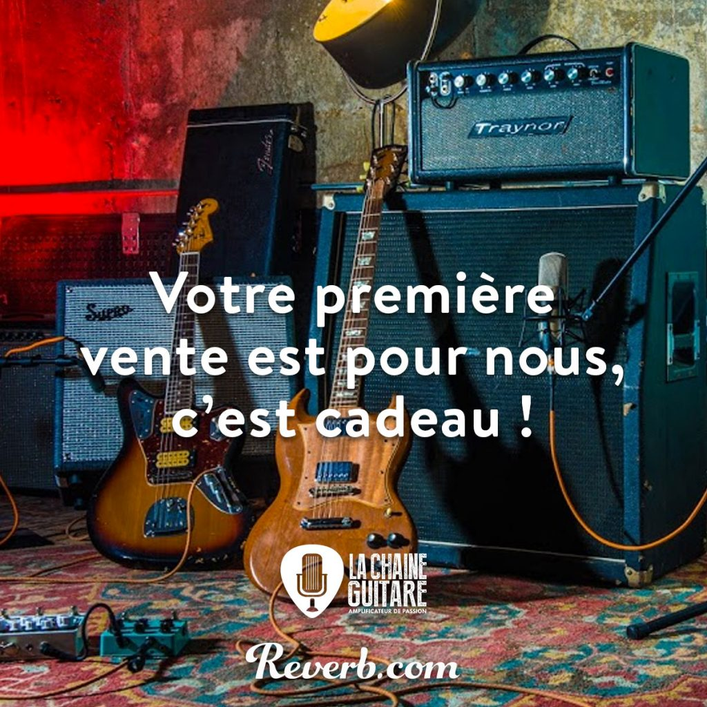 Promotion Reverb.com exclusif Backstage : commission à 0% !